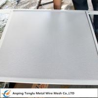 Buy cheap Decorative Perforated Metal| Round Opening Wire Mesh by Stainless Steel Plate from wholesalers