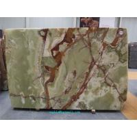 Buy cheap Green Onyx marble slabs from wholesalers