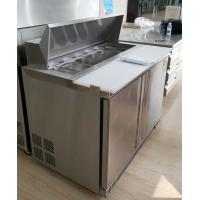 Buy cheap Refrigerated Pizza Prep Counter Fridge 250L Capacity For Restaurants from wholesalers