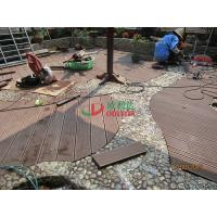 Buy cheap Wood Plastic Composite Decking Flooring , Maintenance Free Decking Natural Wood Texture from wholesalers