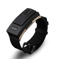 Buy cheap 2014 Smart Bracelet Bluetooth V3.0 Hands-Free Call Headset Sports Wrist Watch Earphone MP3 from wholesalers