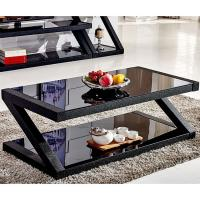 Buy cheap Black Glass Coffee Table Excellent Load - Bearing Capacity For Hotel from wholesalers