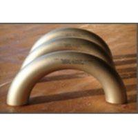 Buy cheap DIN2605 Butt Weld Fittings 180d Cu-Ni Copper Nickel LR Elbow from wholesalers
