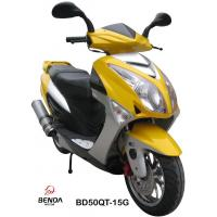 Buy cheap 150cc power gas scooter eec certificates from wholesalers