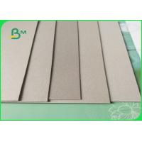 Buy cheap Uncoated Duplex Grey Board Paper / Recycled Cardboard Sheets from wholesalers