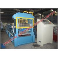 Buy cheap Prepainted Steel V Shaped Roofing Ridge Cap Roll Forming Machine from wholesalers