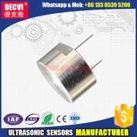 Buy cheap manufacturer of 40kHz Ultrasonic sensor with water proof housing from wholesalers