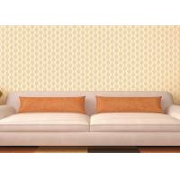 Buy cheap Transcend Comfortable Vinyl Damask Wallpaper Embossed Low - flammability from wholesalers