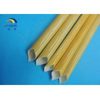 China Fiberglass sleeve coated with polyurethane resin and treated in high temperature on sale