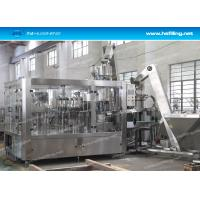 Buy cheap CSD Bottling Line , Small Automatic Carbonated Drink Filling Machine Carbonated Beverage Bottling Line from wholesalers