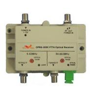Buy cheap Single Fiber Bi-directional RFOG FTTH Optical Receiver from wholesalers