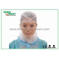 Buy cheap Non Sterile PP Hood Disposable Shower Cap Light Weight and Latex Free from wholesalers