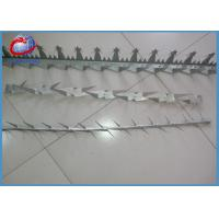 Buy cheap 2mm Hot Dipped Galvanized Concertina Razor Wire Anti Climb Wall Spikes For Fence from wholesalers
