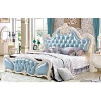 Buy cheap Luxury Bedroom Furniture Royal King Antique Hard Carvedwooden Bed from wholesalers