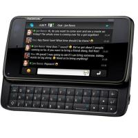 Buy cheap Mobile phone N900 dual card quad band QWERTY touch screen slide cell phone from wholesalers