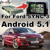 Buy cheap Android 5.1 Navigation Box Video Interface For Ford SYNC 3 With WIFI BT MirrorLink Map Google Service from Wholesalers
