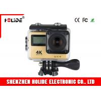 China Wireless Professional Sports Camera With Touch Screen And Fish Eye Lens on sale