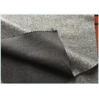 Buy cheap Socks / Hats Per Meter Stretch Wool Fabric Customized Gray with 47 Wool 650 G from wholesalers