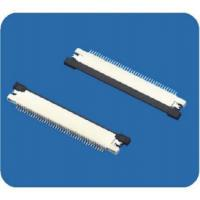 Buy cheap 0.5mm pitch FFC/FPC connectors with lock,right angle from wholesalers