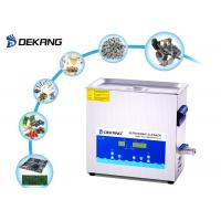 Buy cheap 6.5 liter 180W Digital Ultrasonic Cleaner Remove Rust for Engine Part from wholesalers