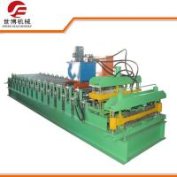Buy cheap 828 - 988 Glazed Tile Making Machine , Corrugated Steel Panel Roll Forming Machine from wholesalers