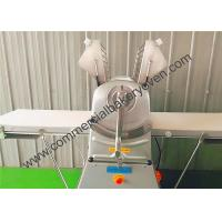 Buy cheap Commercial Bread Dough Sheeter Stainless Steel Skinned Thickness Adjustable from wholesalers