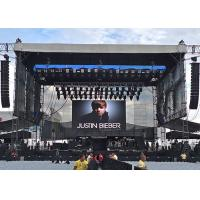 Buy cheap Indoor stage rental led display super thin p3.91 outdoor led video wall 64x64 dots from wholesalers