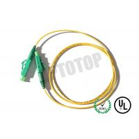 Buy cheap Simplex Fiber Optic Patch Cord Single Mode 2mm with 10m Length , Good Durability product