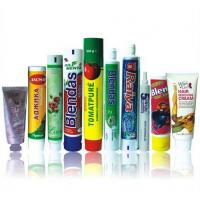 Buy cheap Dia 16mm - 50mm 6C Silk Printing Plastic Laminated Tubes With Metal Plating Cap from wholesalers