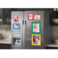 Buy cheap Waterproof Photo Print Fridge Magnet , Square Photo Magnets ISO Approved from wholesalers