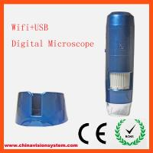 Buy cheap WIFI+USB 5-200X Zoom Portable Digital Microscope product
