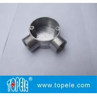 Buy cheap TOPELE 25mm / 32mm BS Electrical Conduit Galvanized Aluminum Circular Junction Box For Conduit Fittings product