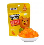 Buy cheap Orange Flavor Vitamin C Fruit Gummy Vitamins Healthy Gummy Fruit Snacks from wholesalers