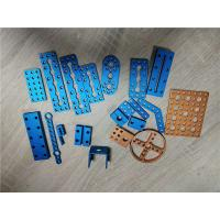 Buy cheap Aluminum Metal Stamping And Drilling Brushed Hinge Process With Hard Anodized Color from wholesalers