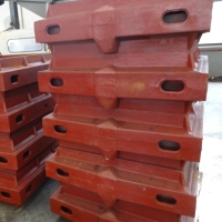 Buy cheap CMM Control Cast Iron Metal Casting Flask Molding Box Foundry from wholesalers