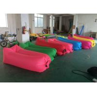 Buy cheap Easily Carrying Inflatable Sofa Bed Colorful Printing For Beach Resting from wholesalers