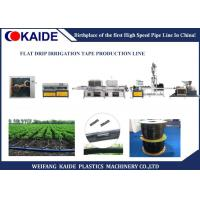 Buy cheap 16mmx0.15mm Drip Irrigation Pipe Production Line With Siemens PLC System from wholesalers