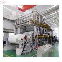 Buy cheap 2800mm 15t Paper Pulp And Waste Paper Recycling Jumbo Roll Toilet Tissue Paper Roll Making Machine from wholesalers