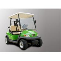 Buy cheap Electronic Small 2 Seater Golf Cart With Caddy Plate CE Approved , Green Color from wholesalers