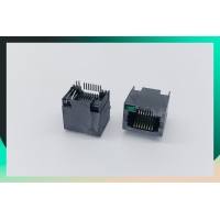 Buy cheap Black PBT PA6T FTP RJ45 Ethernet Connector 90 Degree Without Shielded product