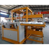 Buy cheap PLC Controlling Fast Food Box Making Machine , Ps Foam Plate Making Machine from wholesalers