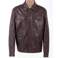 Buy cheap Customized European, Size:46  M Casual  Lightweight PU  Leather Jackets for Men product