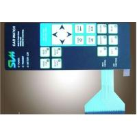 Buy cheap PET Film Overlay Matrix Membrane keypad , Touch Screen Keyboard Membrane Switch from wholesalers