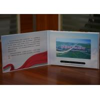 Buy cheap Creative Video marketing technology 7inch HD lcd  video brochures video in printing touch screen optional from wholesalers