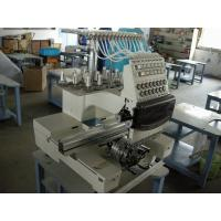 Buy cheap Small Business Single Head Embroidery Machine , 12 Needle Embroidery Machine Industrial from wholesalers