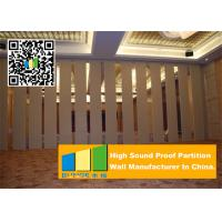Buy cheap Folding Acoustic Movable Partition Walls , Banquet Room Moving Partition Wall from wholesalers
