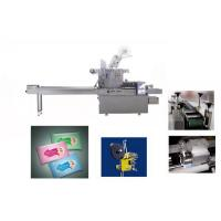 Buy cheap Automatic Horizontal Wet Tissue Packing Machine Single Piece Servo Motor from wholesalers