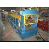 China Metal Roofing Ridge Cap Panels Rollformer Equipment for Rolling Steel or Aluminium Sheets on sale