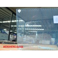 Buy cheap 10mm Spandrel silk screen printing on glass ,  enamel / Ceramic frit glass from wholesalers