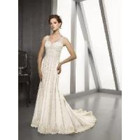 Buy cheap Mori Lee Bridal Collection Style 2201 Lace and Tulle With Beading from wholesalers